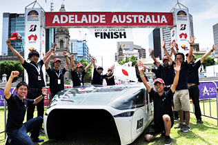 2015 Bridgestone World Solar Challenge 1